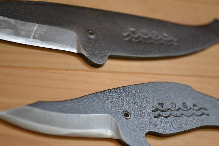 くじらナイフ、かわいい安全子供用鉛筆削りナイフ
